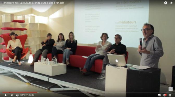 La culture architecturale des français | vidéo en ligne