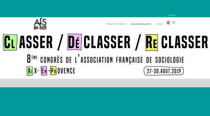 Manon Labarchède au congrès de l'AFS | 27-30/08/2019