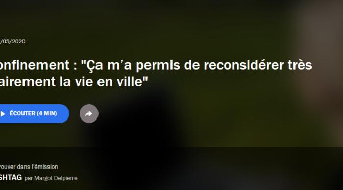 Guy Tapie sur France Culture | habitat et confinement