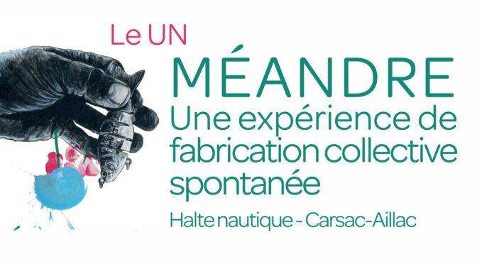 conférence d'Olivier Chadoin pour le projet artistique «méandres» | 26/06/2021