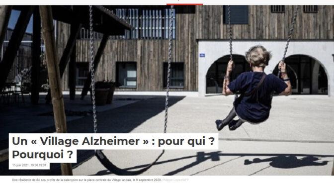 Un « Village Alzheimer » : pour qui ? Pourquoi ? | Manon Labarchède sur «The Conversation»